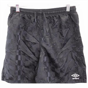P175 Vintage Umbro Boxing Shorts Checkered Shorts